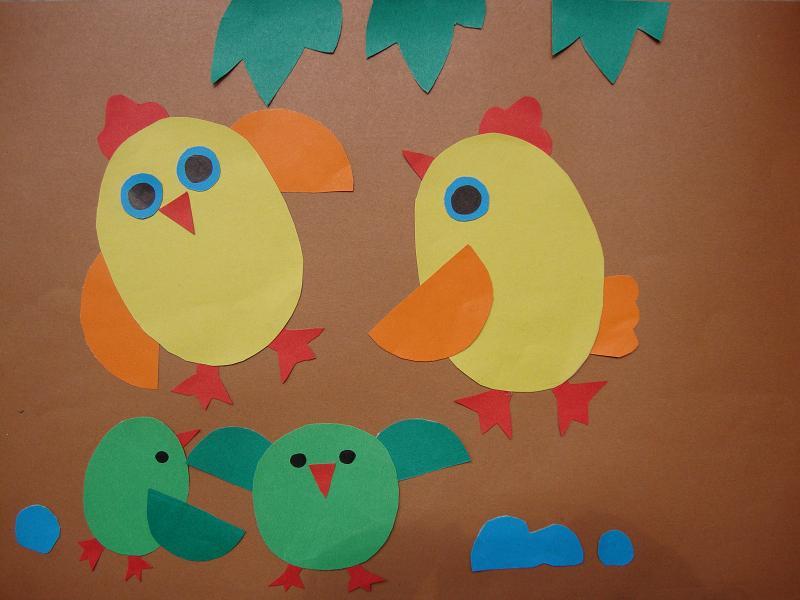 儿童手工粘贴画:剪纸——海底世界;
